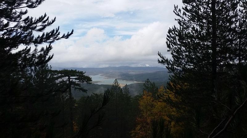 panoramic view cozzo principe sila calabria